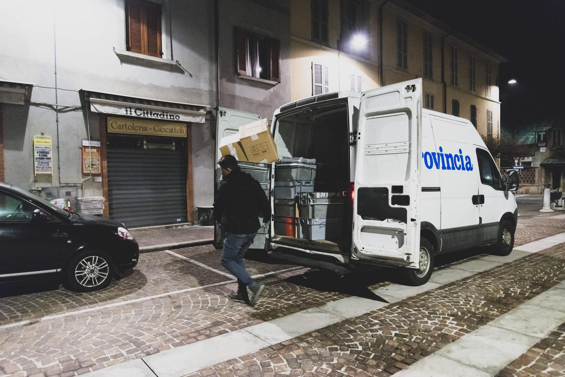 Parravicini giornali Monza Brianza distribuzione edicole