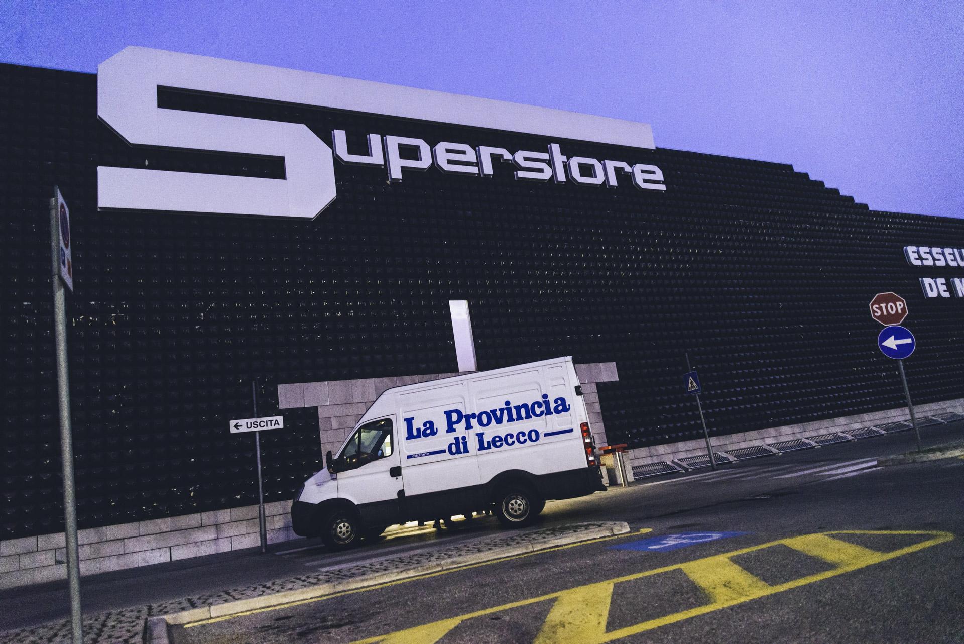 Parravicini giornali Monza Brianza distribuzione edicole Esselunga